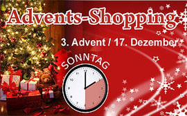 Advents-Shopping in Ankum