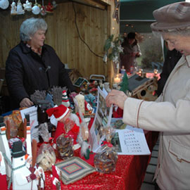 Christkindlmarkt in Oberndorf
