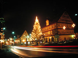 Adventsglühn am Rathaus Bad Staffelstein