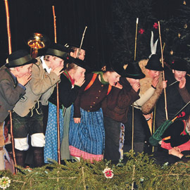 Traditionelles Berchtesgadener Adventsingen