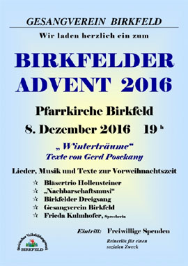 Birkfelder Advent 2019