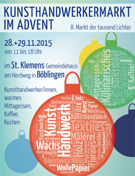 Adventsmarkt in Böblingen