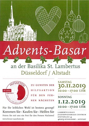 Advents-Basar am Stiftsplatz St. Lambertus