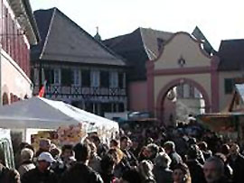 Martinimarkt in Ettenheim