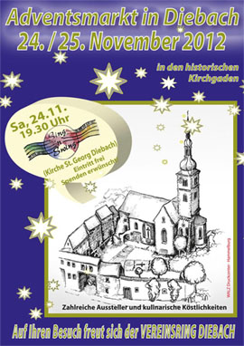 Adventsmarkt in Diebach 2019