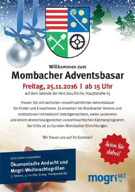 Mombacher Adventsbasar