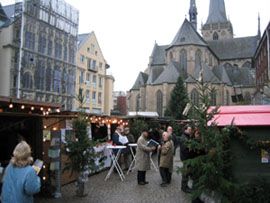 Adventmarkt am Dom in Wesel